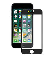 Защитное стекло 4D Full Cover для IPhone 6 Plus Black (Screen Protector 0,3 мм)