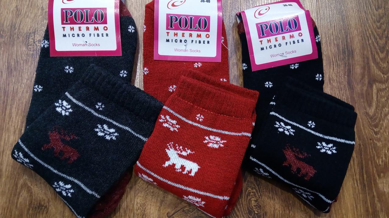 """Жіночі махрові термошкарпетки""""POLO"""",Туреччина"""