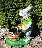 Подставка для цветов кашпо Заяц садовник