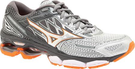f2406884 Мужские кроссовки Mizuno Wave Creation 19 Running Shoe Silver/Diamond -  SaleUSA