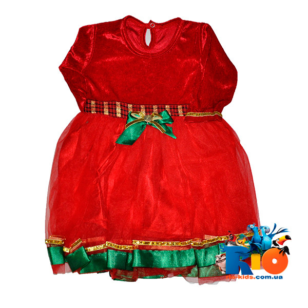 Детское нарядное платье, для девочек 1-4 года(4 ед в уп)