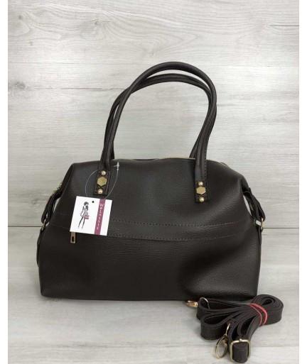 1f76f79547ce Женская сумка WeLassie Ирен шоколадного цвета: продажа, цена в ...