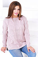 Женский свитер грубой вязки ботал, фото 1