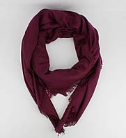 Большой кашемировый платок Louis Vuitton 7988-13 марсала двусторонний,  расцветки cc8712d66cd