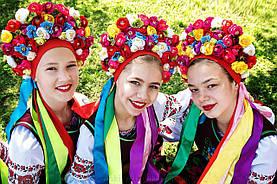 Украинские венки на голову. Новинки!