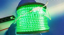 Светодиодная лента AVT-120Led 2835-220V-4W/m IP65 5mm зеленая