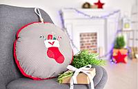 Подушка-игрушка новогодняя, в ассортименте, фото 1