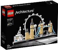Конструктор лего  Лондон  Lego Architecture 21034 London - Lego Speed Build Review