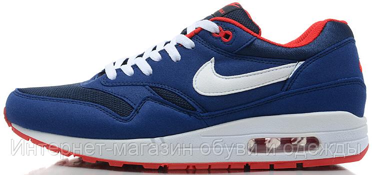 c206d0f659e9 Мужские кроссовки Nike Air Max 87 Найк Аир Макс 87 синие купить в ...