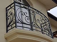 Кованые перила на балкон арт.кп 41