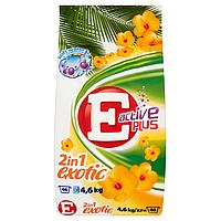 Стиральный порошок Е Active Plus Exotic , 4,6 кг, фото 1