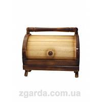 Оригинальная хлебница из натурального дерева
