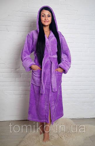 f7c8fd0467f2f Недорогие женские махровые халаты с капюшоном в Киеве. Стильные велюровые  халаты оптом