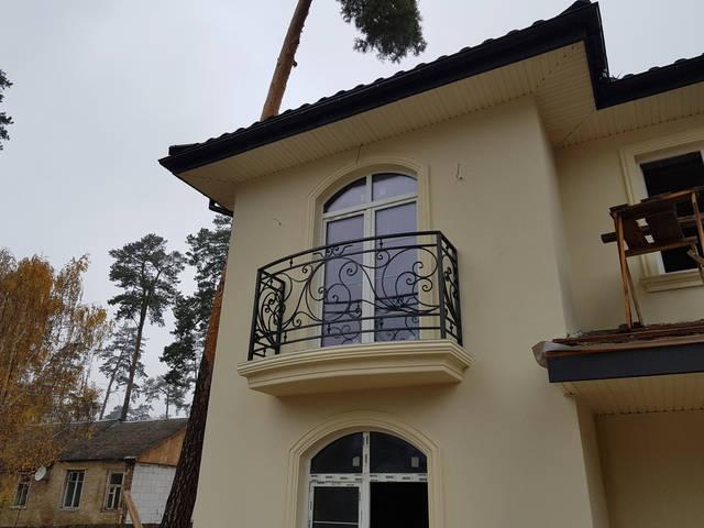 Кованые перила на балкон 3