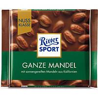 Шоколад Ritter Sport с Миндалем в молочном шоколаде
