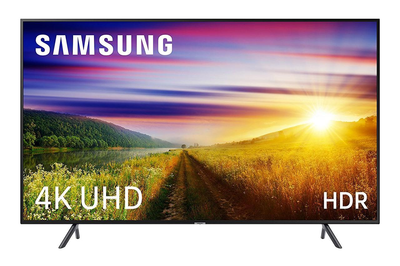 Телевизор Samsung UE40NU7122 (PQI 1300Гц, 4K, Smart, UHD Engine, HLG, HDR10+, Dolby Digital+ 20Вт, DVB-C/T2)
