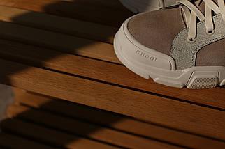 Замшевые женские ботинки Supreme cucoi из новой коллекции ! люкс 1:1 в Украине, фото 3