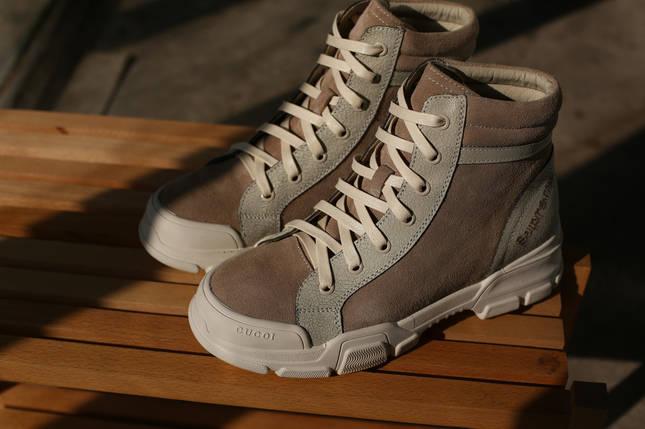 Замшевые женские ботинки Supreme cucoi из новой коллекции ! люкс 1:1 в Украине, фото 2