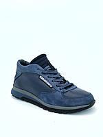 Ботинки (кроссовки) мужские зимние, натуральная кожа, с мехом.