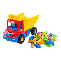 """""""Multi truck"""" вантажівка з конструктором  38x25x20 см"""