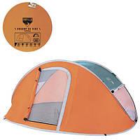 BW Палатка 68005 (12шт) 235-190-100см,3-местная,антимоскитная сетка,сумка,