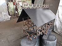 Колпак на дымоход кованый арт 3, фото 1