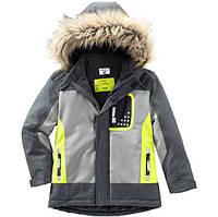 Серая лыжная куртка для мальчика Topolino Германия Размер 122