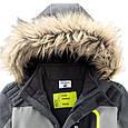 Серая лыжная куртка для мальчика Topolino Германия Размер 122, фото 4