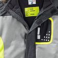 Серая лыжная куртка для мальчика Topolino Германия Размер 122, фото 3