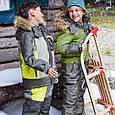 Серая лыжная куртка для мальчика Topolino Германия Размер 122, фото 6