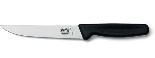 Кухонный нож Victorinox Carving 5.1803.18 черный