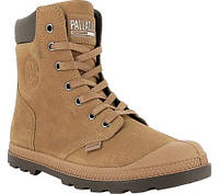 Женские ботинки Palladium Pampa Hi Knit LP Ankle Boot Brown Sugar Slate  Black Suede ad7250553a229