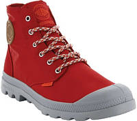 Женские ботинки Palladium Pampa Puddle Lite Waterproof Boot Chili  Pepper Silver Textile 8f211a3a234a3