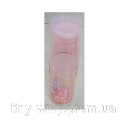 Бутылочка 6165 (100шт) 500мл, стакан, микс цветов, в кульке, 23,5-7-7см