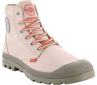 Мужские ботинки Palladium Pampa Puddle Lite Waterproof Boot Peach  Whip Vintage Khaki Textile 4aa92b34e0754