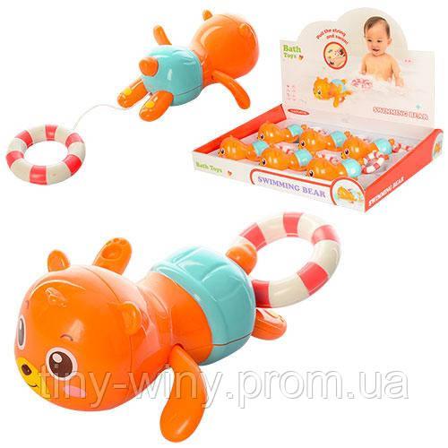 Водоплавающая игрушка 05303 (72шт) мишка, 12см, 6шт в дисплее, 41-33-7см