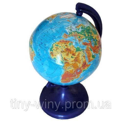 Глобус 9 см фізичний