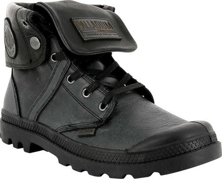 Мужские ботинки Palladium Pallabrouse Baggy L2 Ankle Boot Black Tumbled  Leather 15d601b28667f