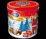 Шоколад (конфеты) молочный Pralinen с фундуком Onli Австрия 200g