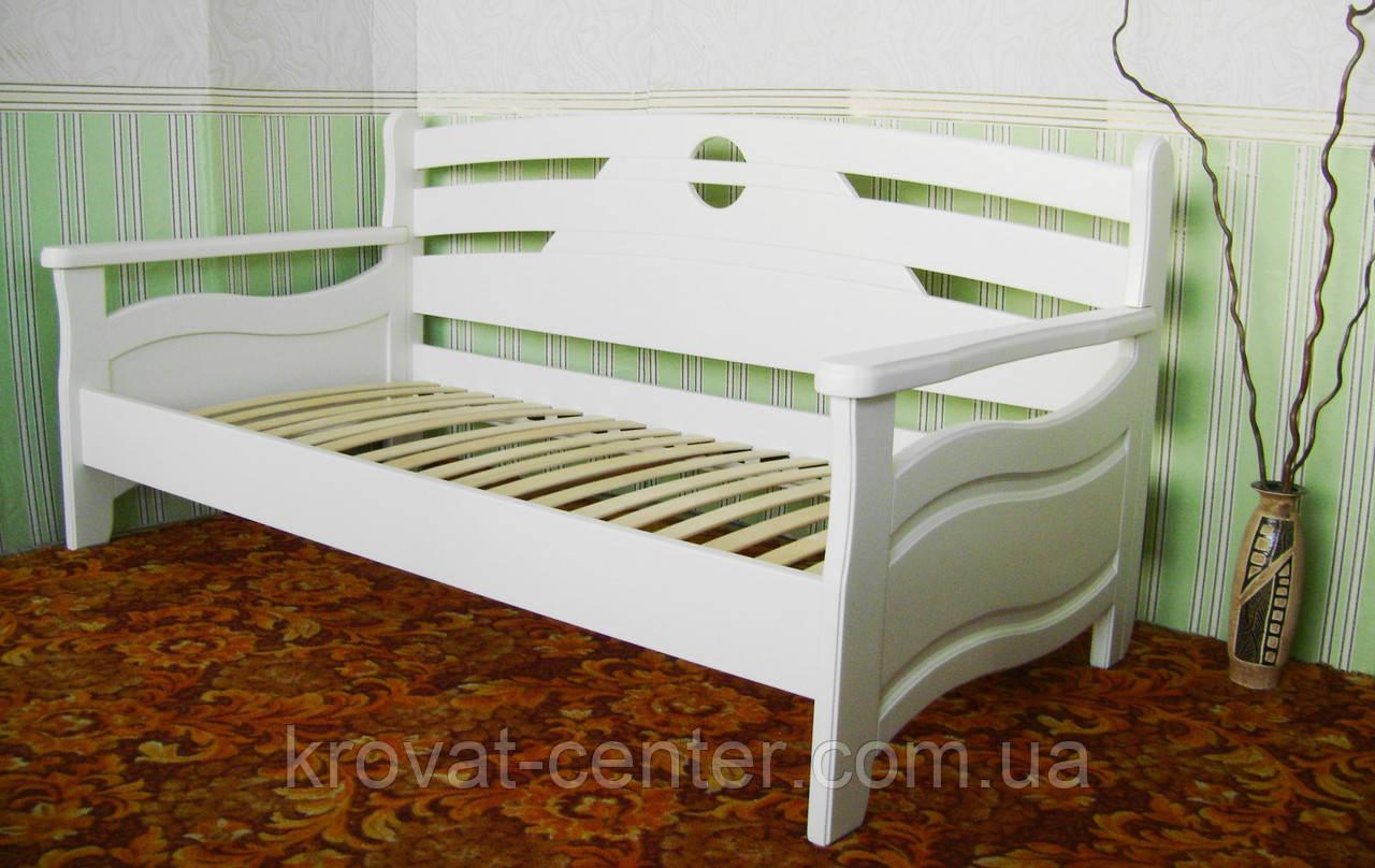"""Белый деревянный диван от производителя """"Луи Дюпон - 2"""""""