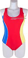 Cлитный подростковый купальник борцовка Atlantic beach 695001-1 красный