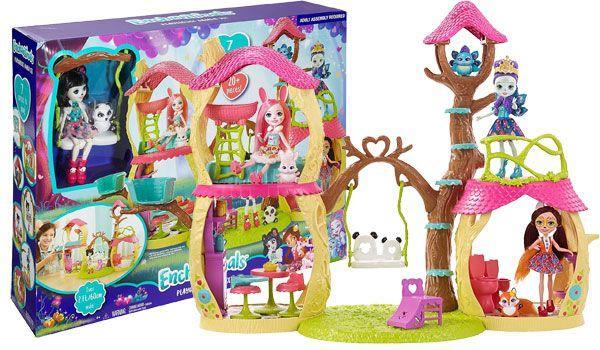 Лесной дом панды для кукол Энчантималс, Enchantimals Panda Tree House, Оригинал из США