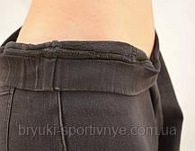 Джинсы женские зимние на меху - большие размеры 3XL  Черный, фото 2