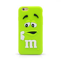 """Силиконовый чехол для iPhone 6 4.7"""" M&M's (эм-энд-эмс)"""