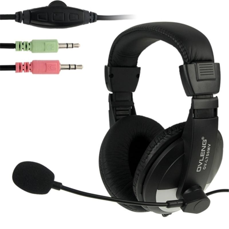 Наушники проводные SY750MV с микрофоном