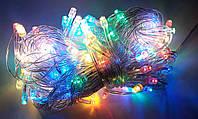 Multi Function Гирлянда Светодиодная, 100 led 8м RGB (прозрачный провод)