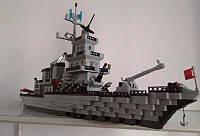 Конструктор Brick Enlighten 112 Военный корабль Крейсер 970 деталей, фото 1