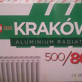 Радиатор алюминиевый для отопления 80х500 {KRAKOW~Польша}
