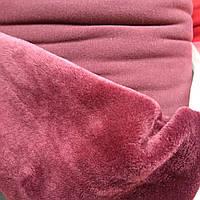 Трикотаж на меху ткань для пошива зимней одежды ширина 150 см , фото 1