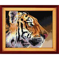 "005Т Набор для рисования камнями (холст) ""Королевский тигр"" LasKo"